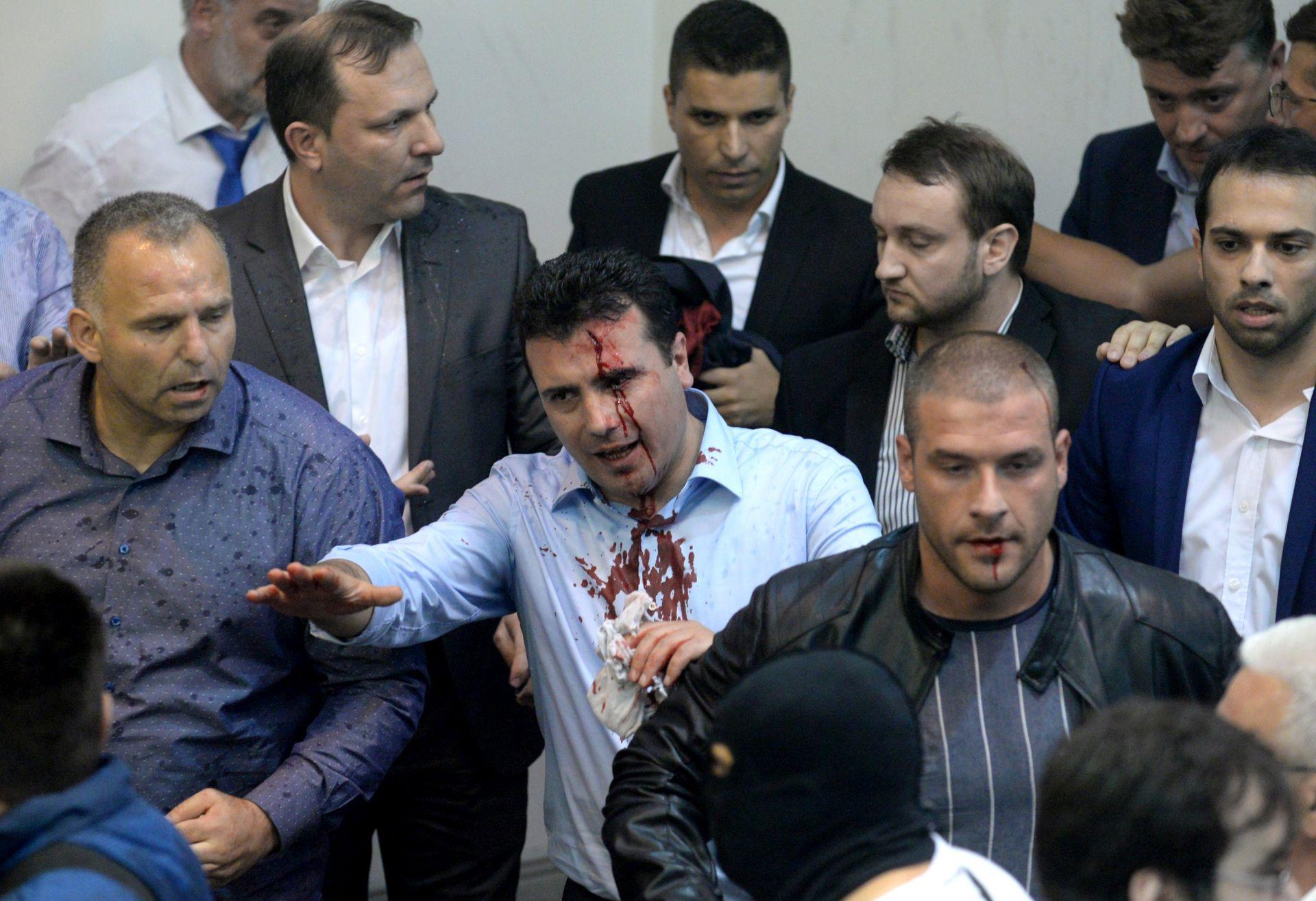 Dan nakon upada prosvjednika u parlament u Skopju se stanje normalizira