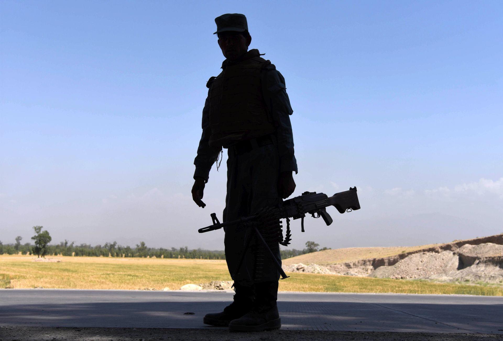 AMERIČKI ZRAČNI NAPAD U prijateljskoj vatri poginulo 16 afganistanskih policajaca