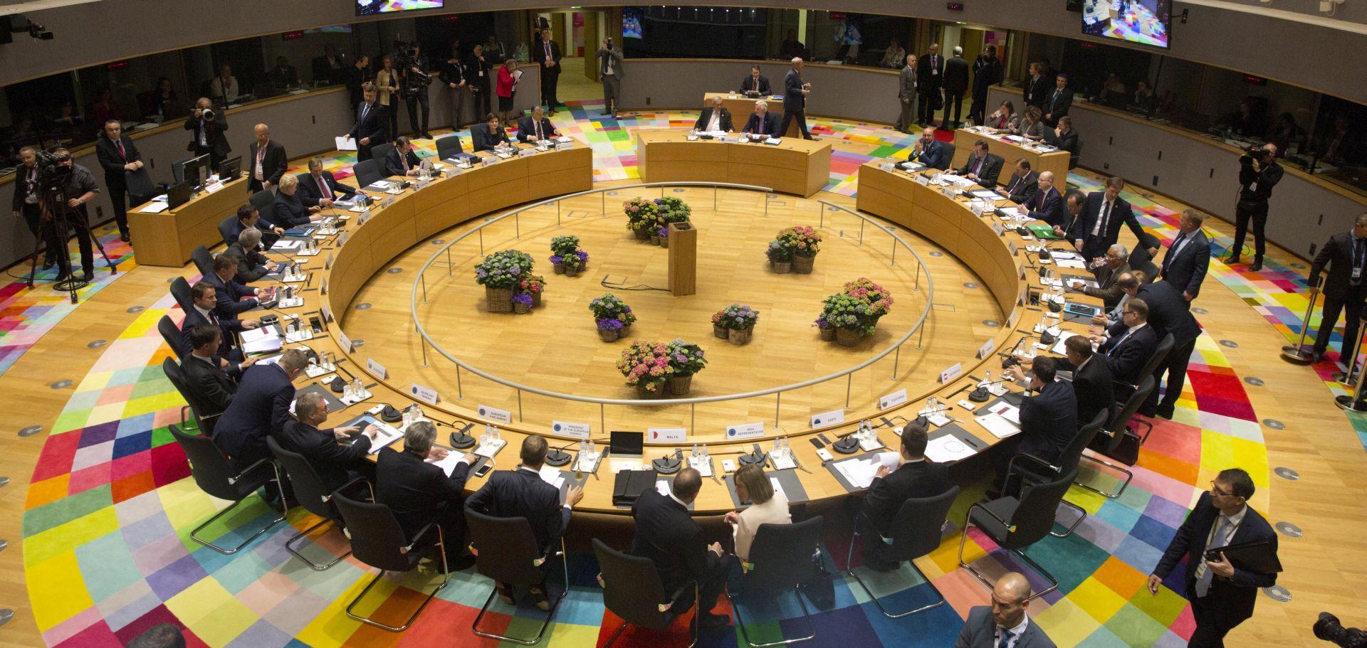 BRUXELLES Čelnici zemalja Europske unije prihvatili smjernice pregovora o Brexitu