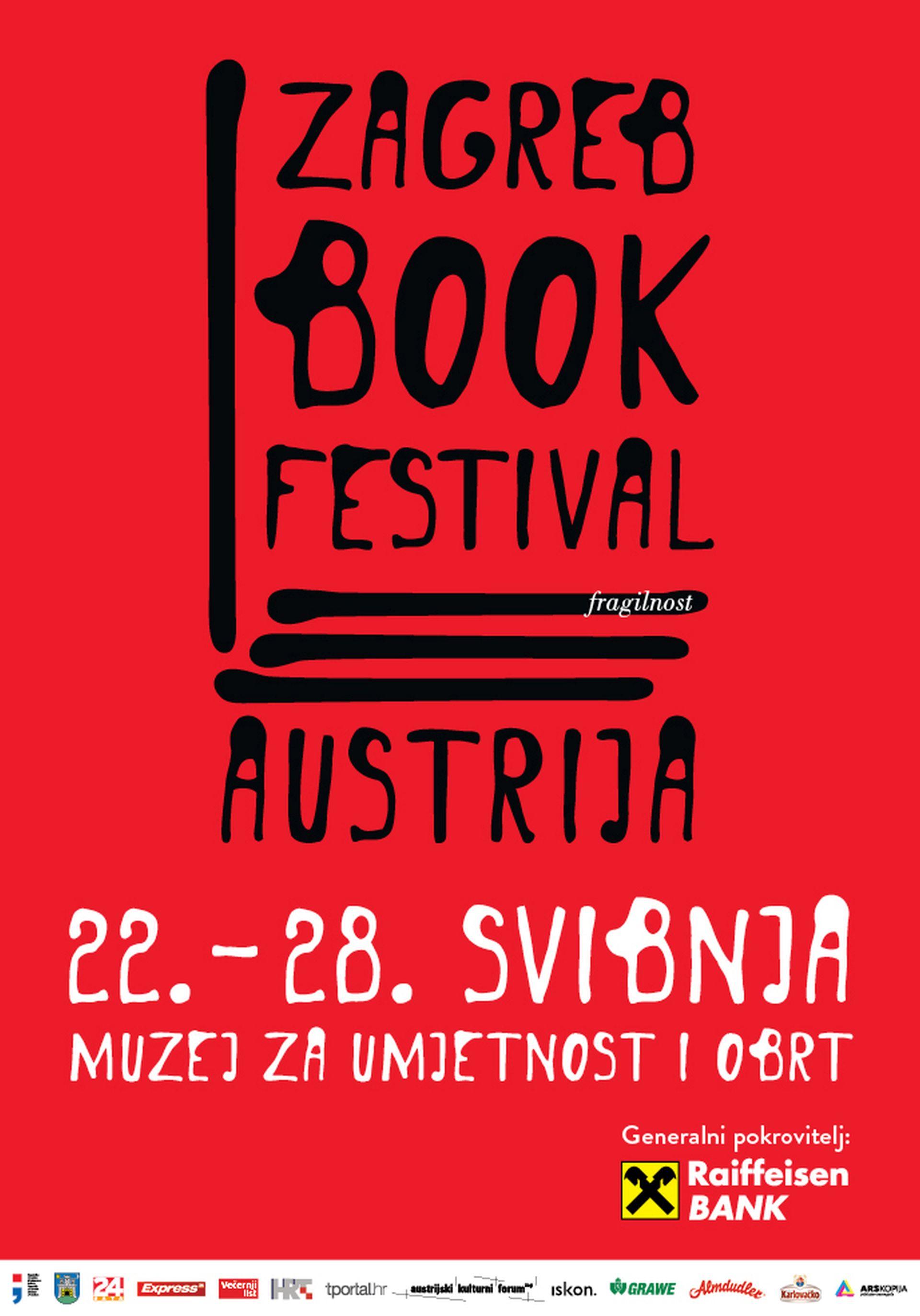 Austrija u fokusu trećeg Zagreb Book Festivala