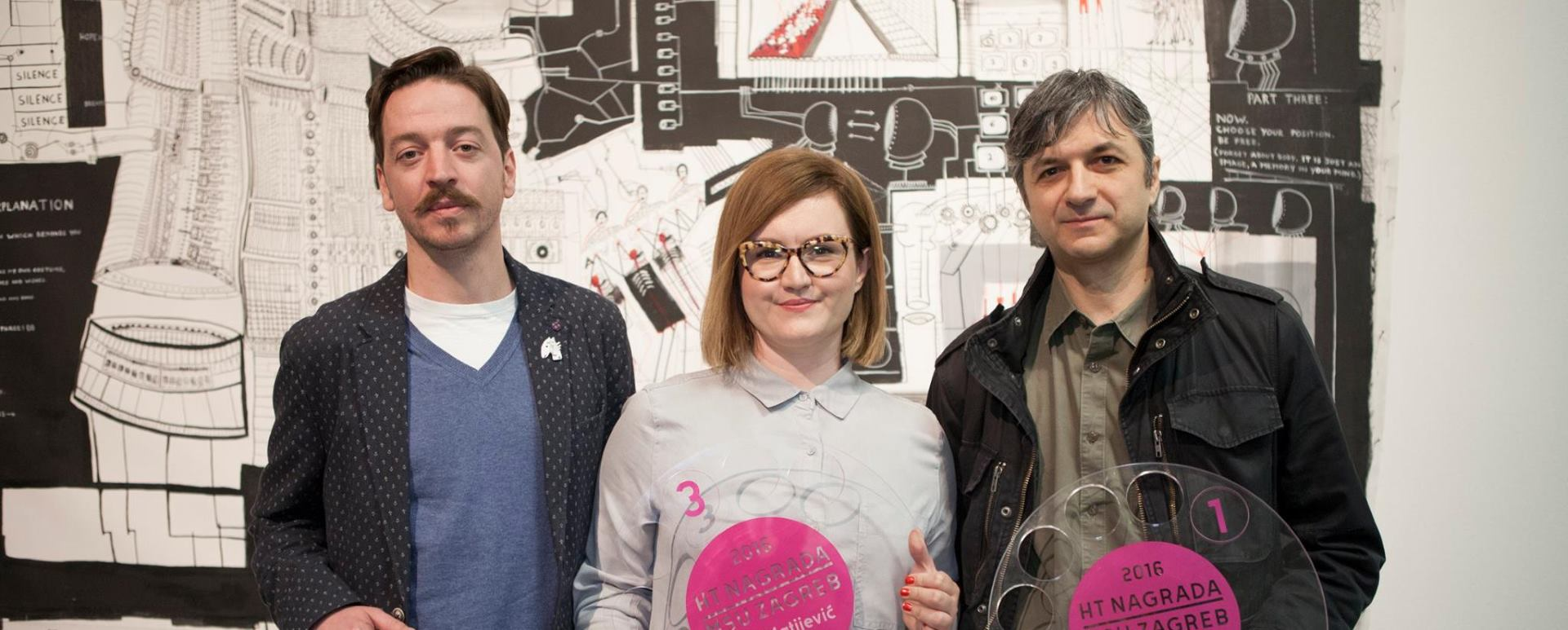 Odabrani pobjednici desete natječajne izložbe HT nagrada za hrvatsku suvremenu umjetnost