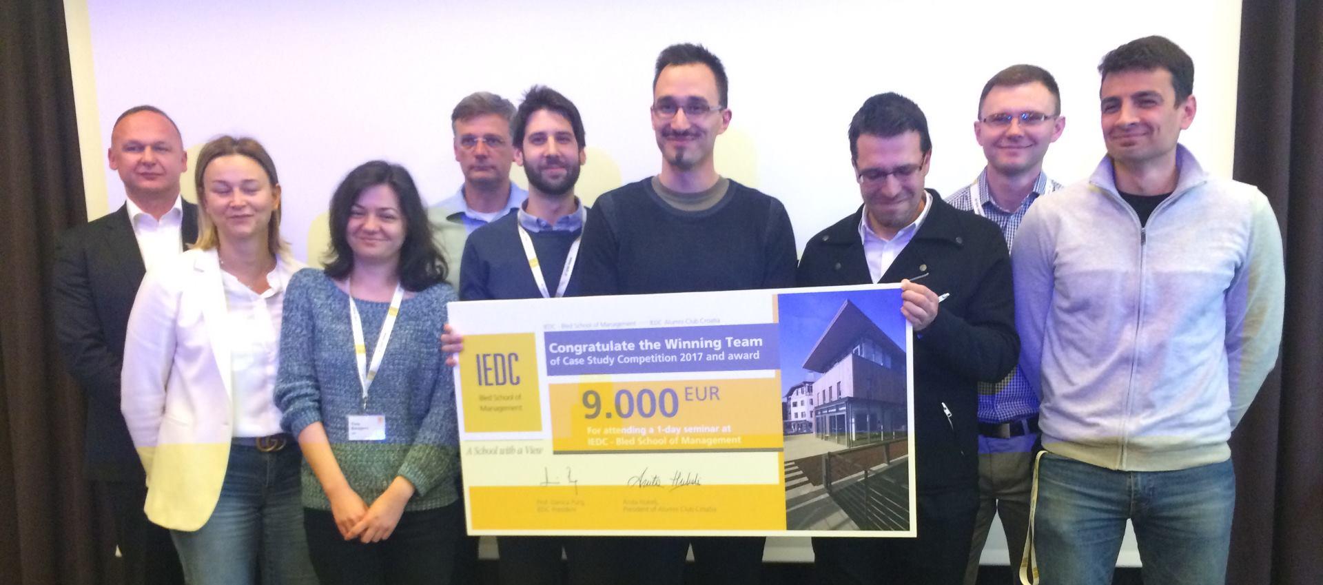 Pobjednik natjecanja u riješavanju poslovnih slučajeva je HEP