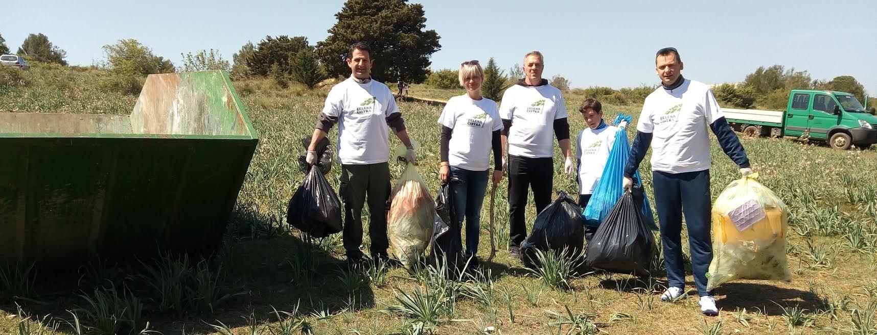 MODES Ivica Vlakić i Rudolf Dvorski sudjelovali u akciji čišćenja okoliša