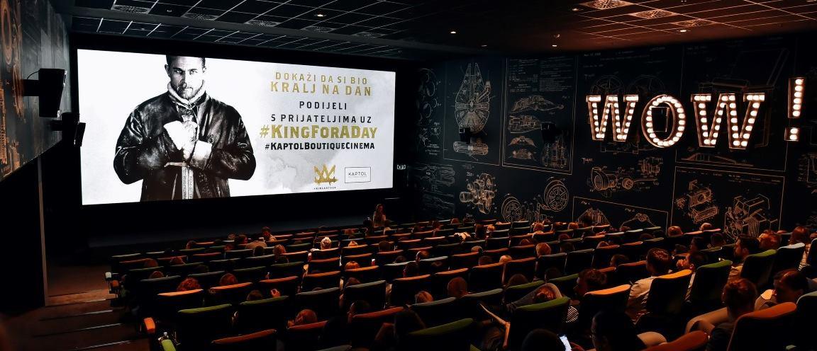 FOTO: KAPTOL BOUTIQUE CINEMA Održana posebna projekcija filma 'Kralj Arthur: Legenda o maču'
