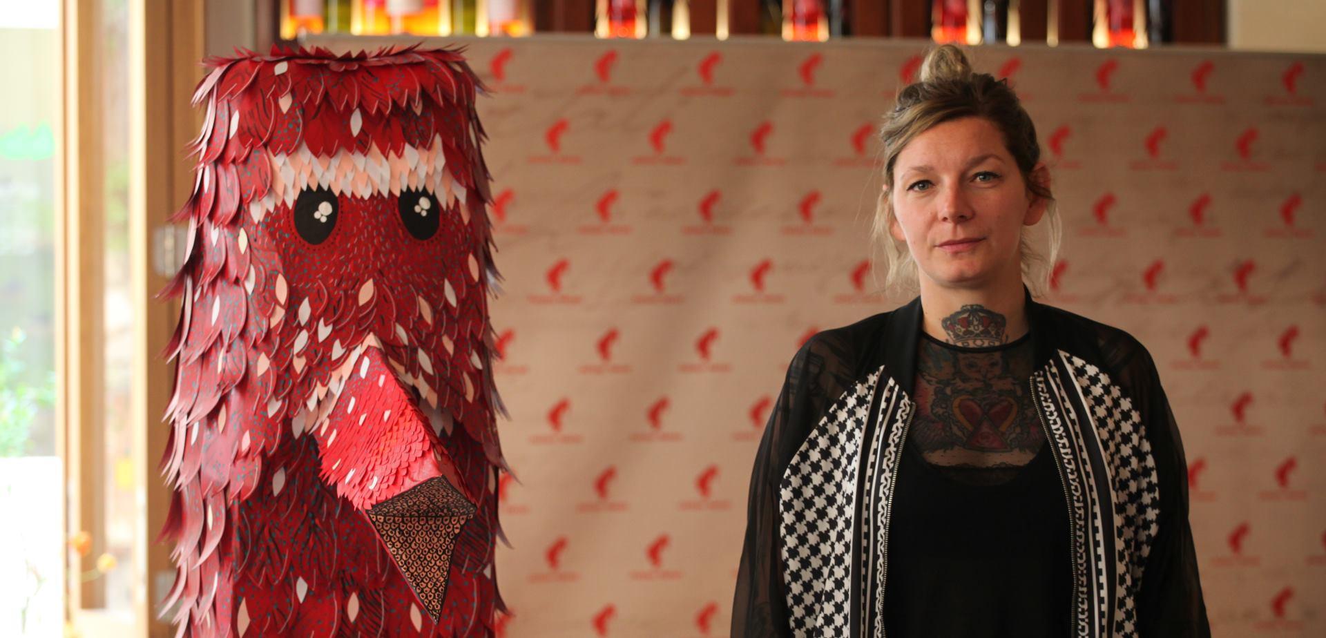 FOTO: JULIUS MEINL Mlada umjetnica OKO predstavila 'poetsku' skulpturu