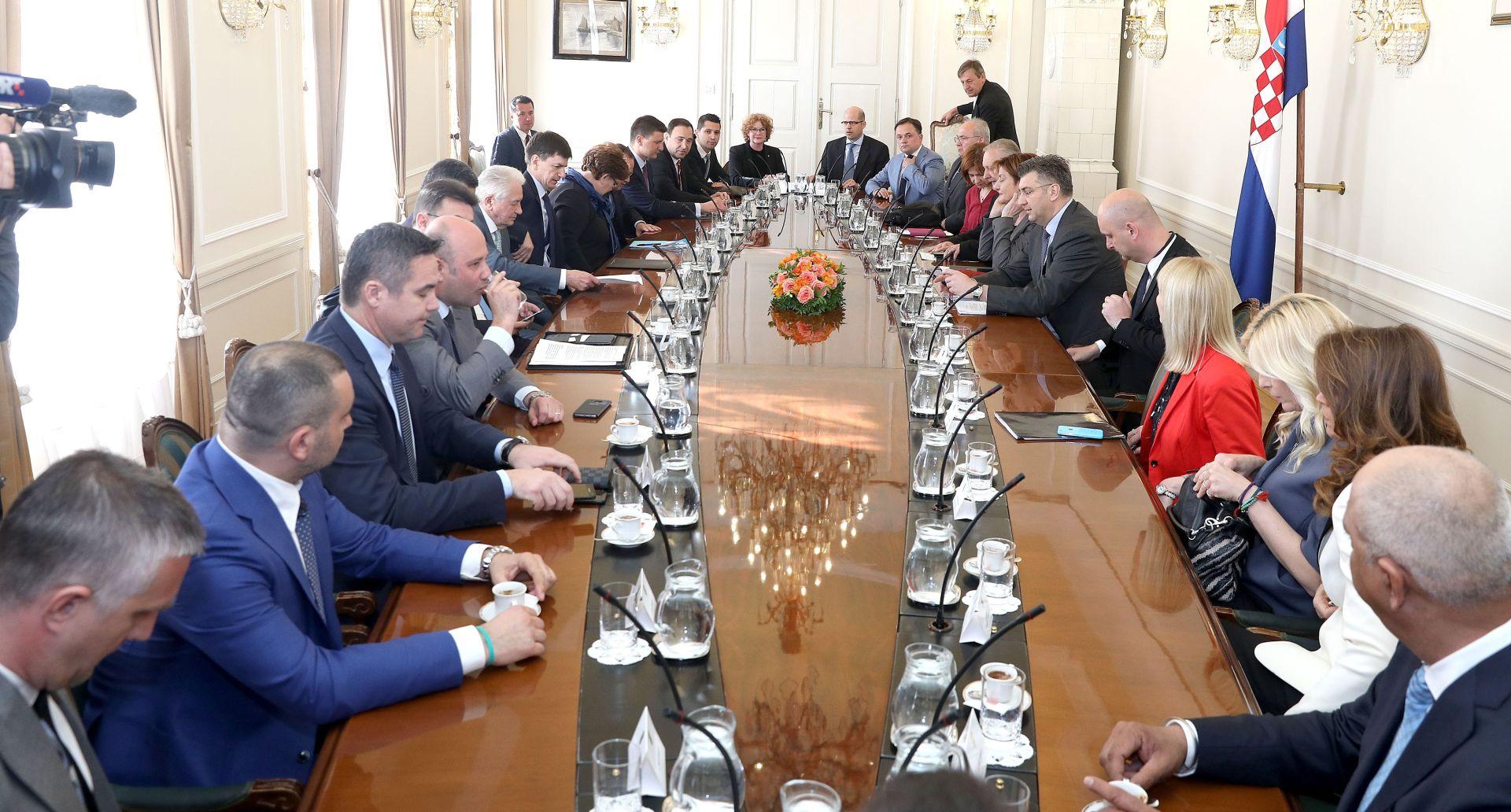 AGROKOR Počeo sastanak premijera Plenkovića s dobavljačima koncerna