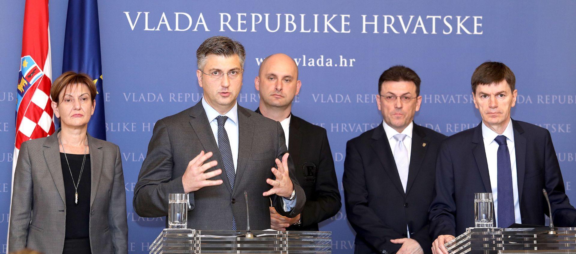 PLENKOVIĆ 'Vlada želi podržati svaki napor koji će dovesti do dogovora'