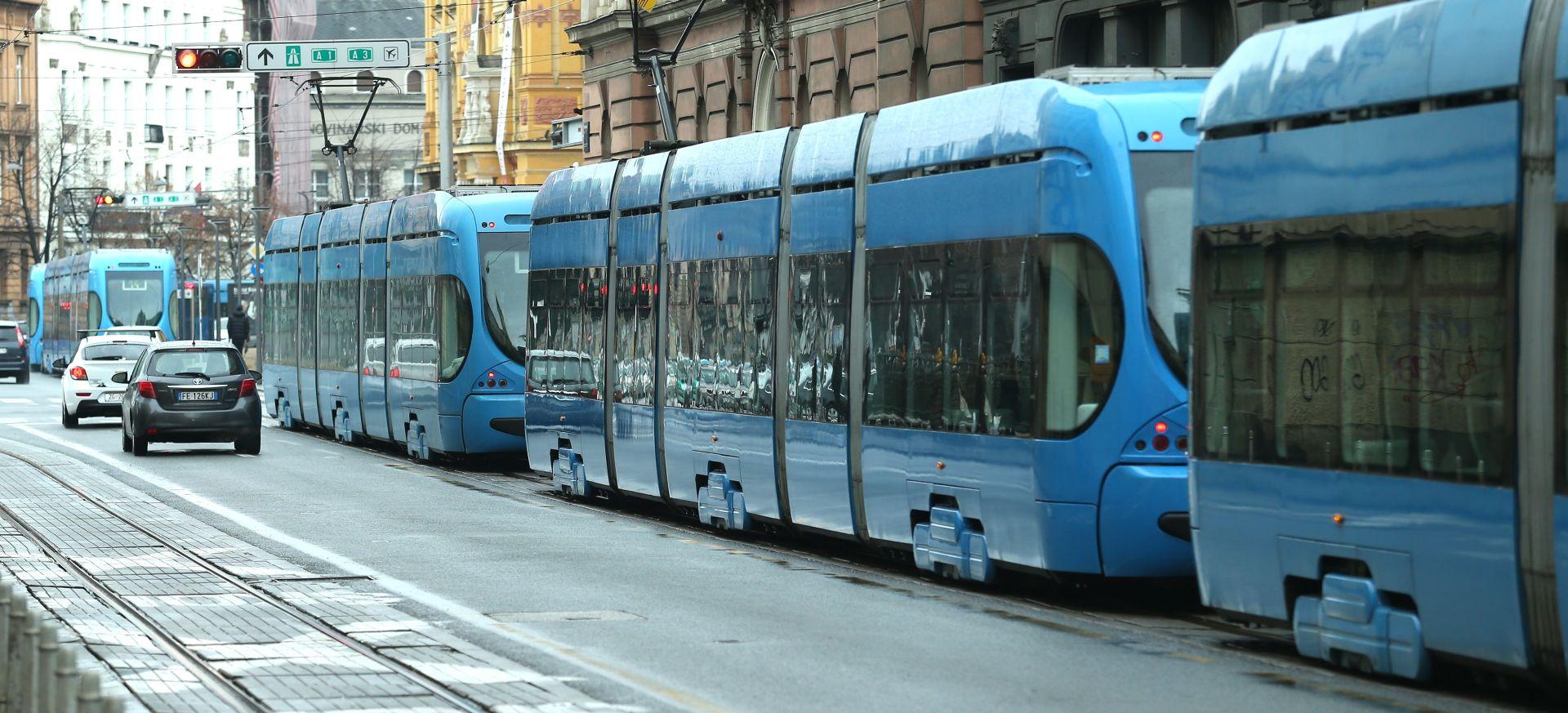 OŠTEĆENJE ELEKTRIČNE MREŽE Zastoj tramvajskog prometa u središtu Zagreba