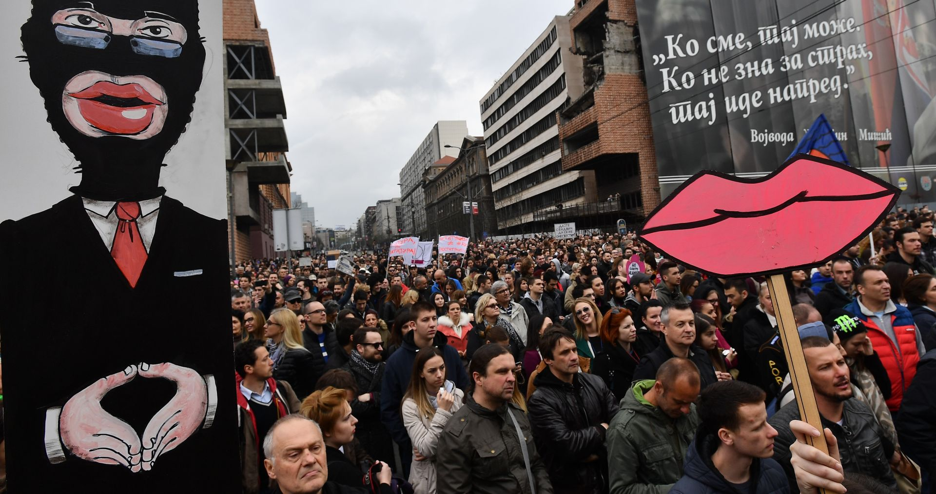 Prosvjedi mladih u Srbiji zaprepastili su ne samo Vučića, nego i cijelu opoziciju
