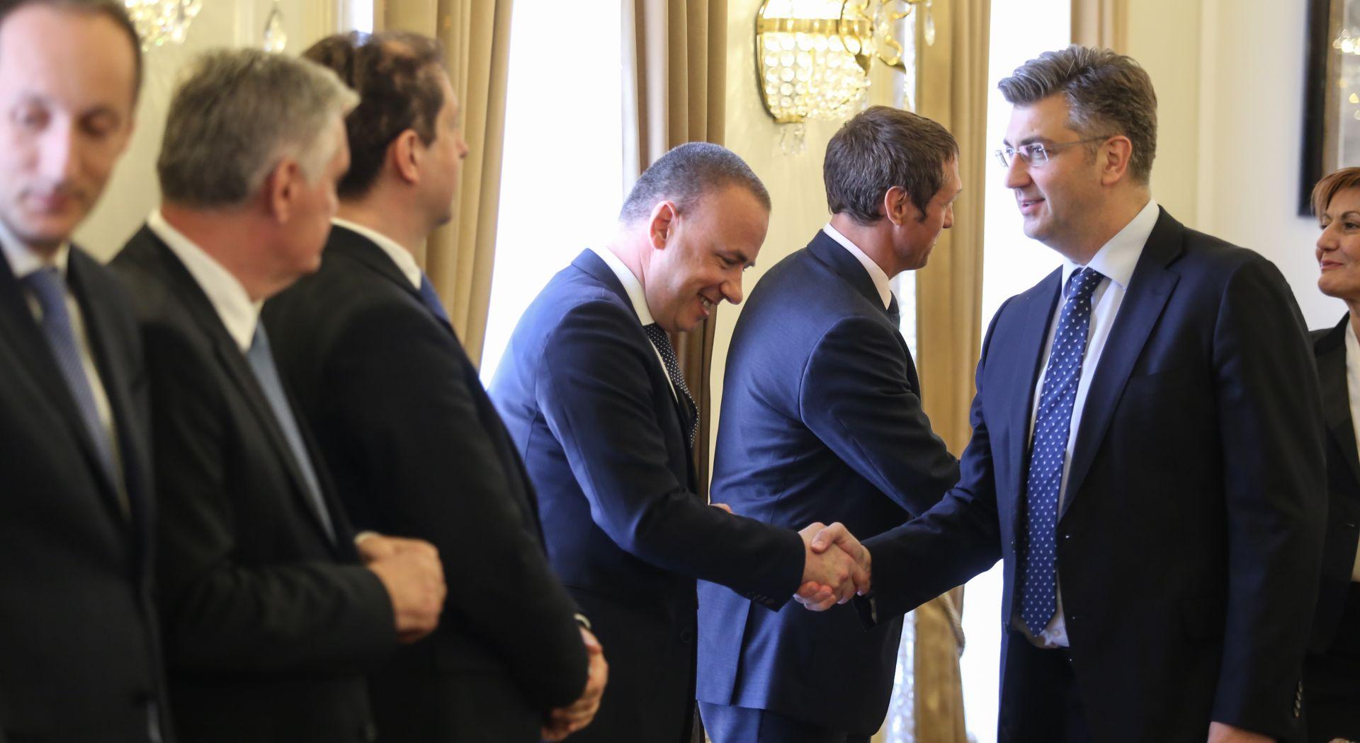 """SASTANAK S BANKAMA """"Najvažnije je da smo se dogovorili osigurati dodatnu likvidnost od 150 milijuna eura"""""""