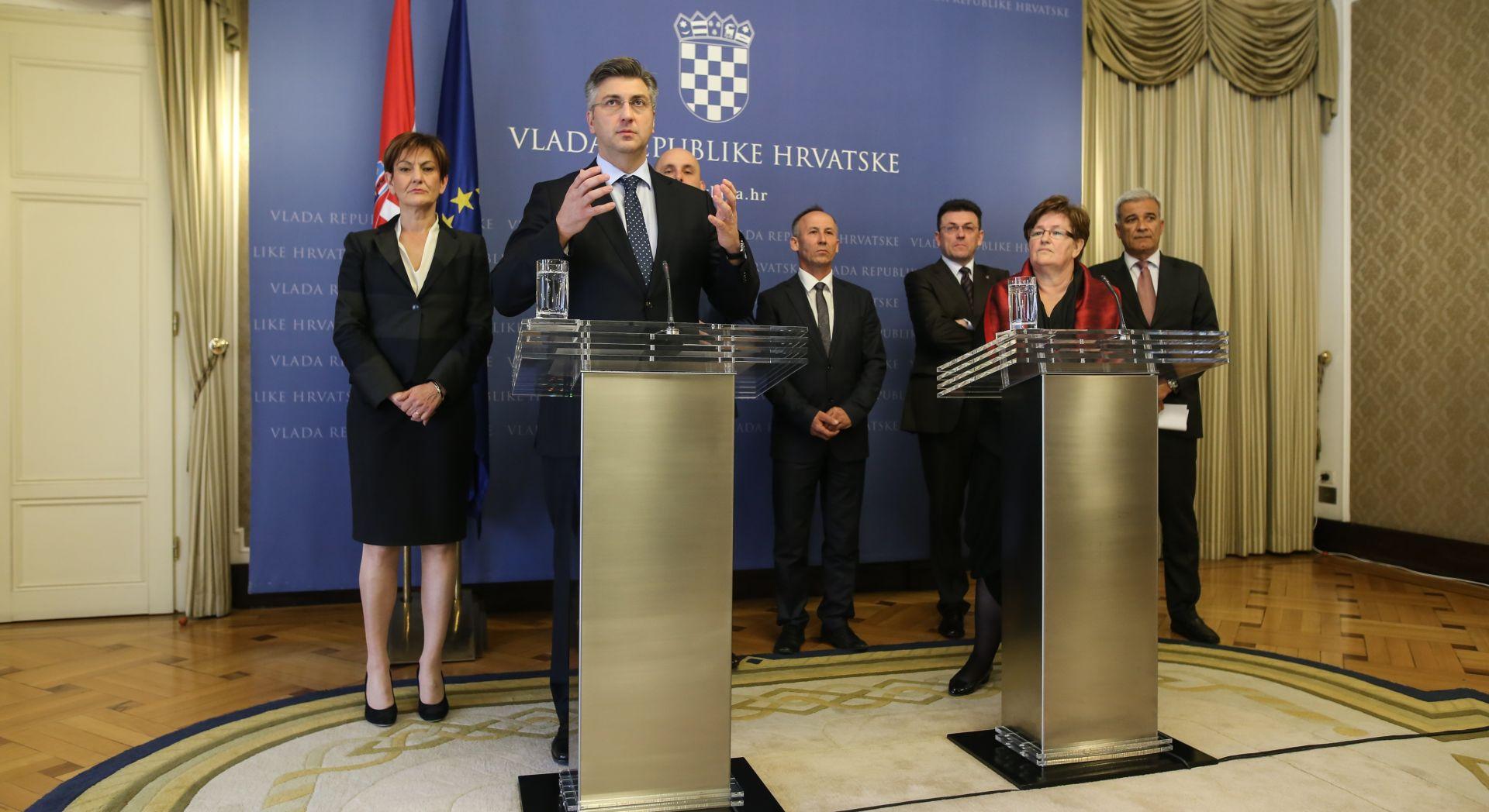 AGROKOR Plenković: 'Most je u cijelosti stao iza izbora Ramljaka i zakona'