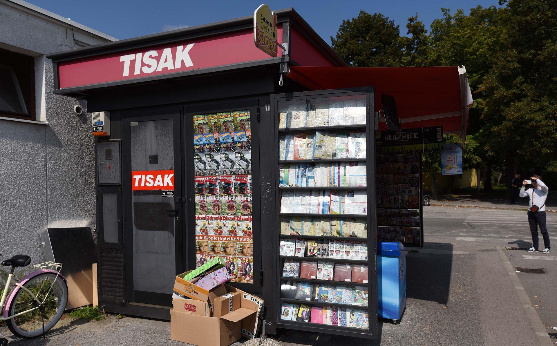 Povučene loto igre i srećke Hrvatske lutrije s kioska Tiska