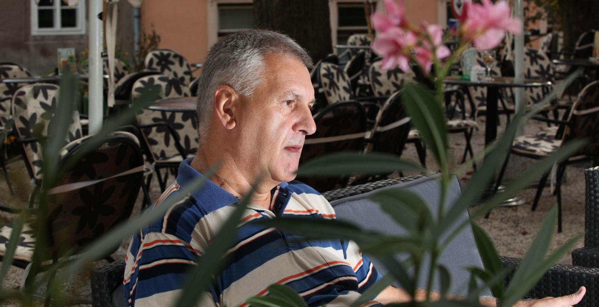 POSTIRE NA BRAČU Zapaljena vikendica bivšeg državnog odvjetnika Ortynskog