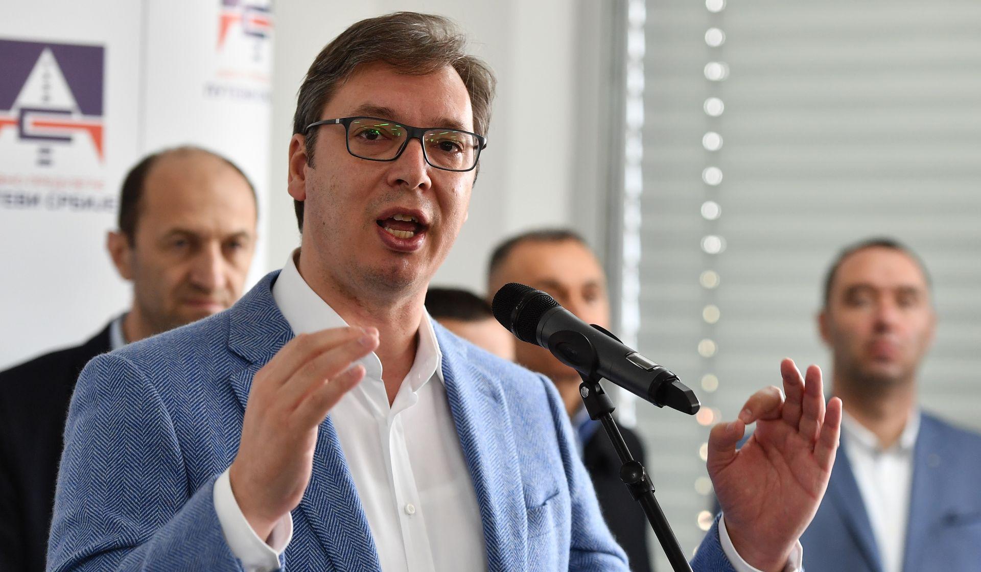 """VUČIĆ """"Nemam informaciju da Hrvatska posjeduje S-300"""""""