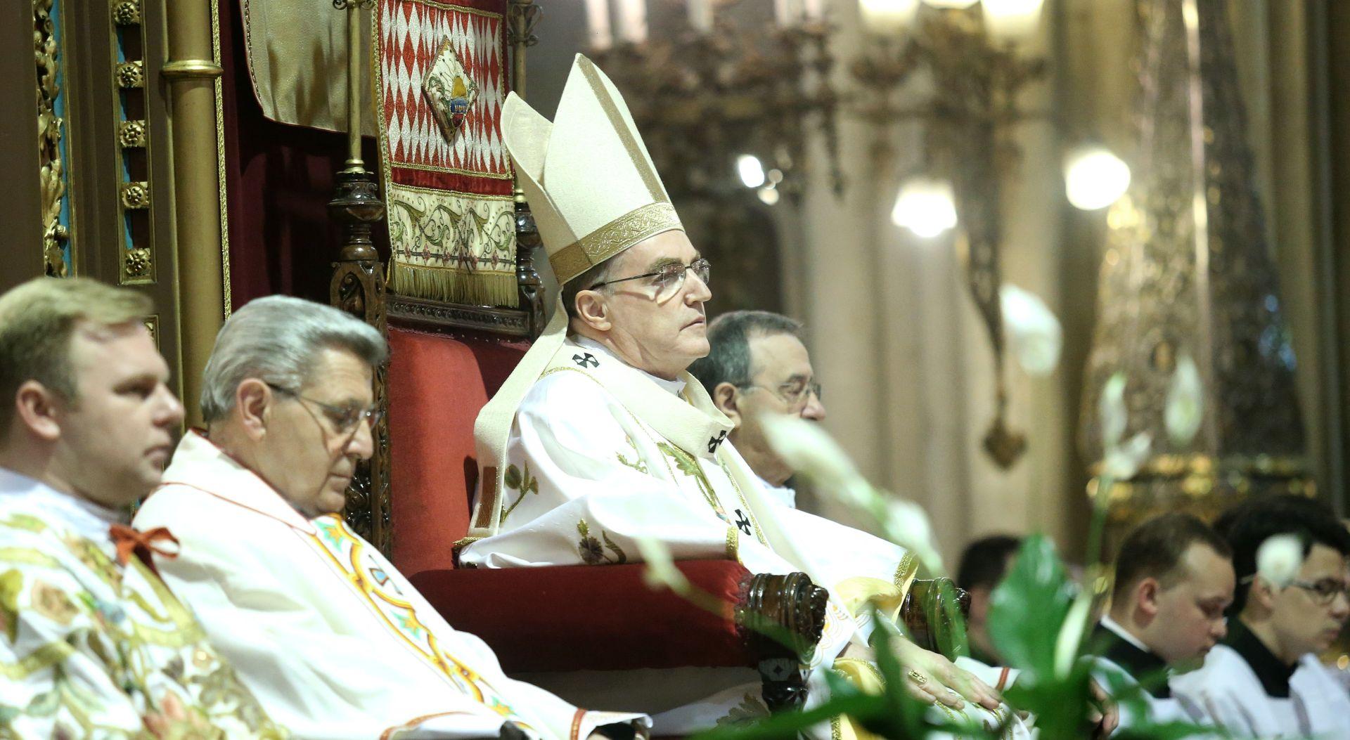 Kardinal Bozanić u Uskrsnoj homiliji: 'Zluradost nije snaga koja pobjeđuje, pobjeđuje dobro!'