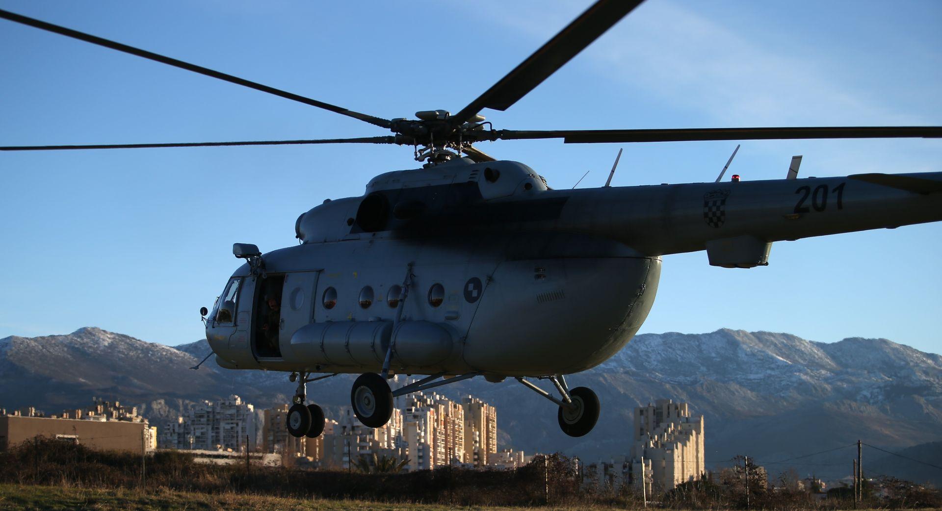 Helikopteri HRZ i PZO-a tijekom vikenda su prevezli šest pacijenata