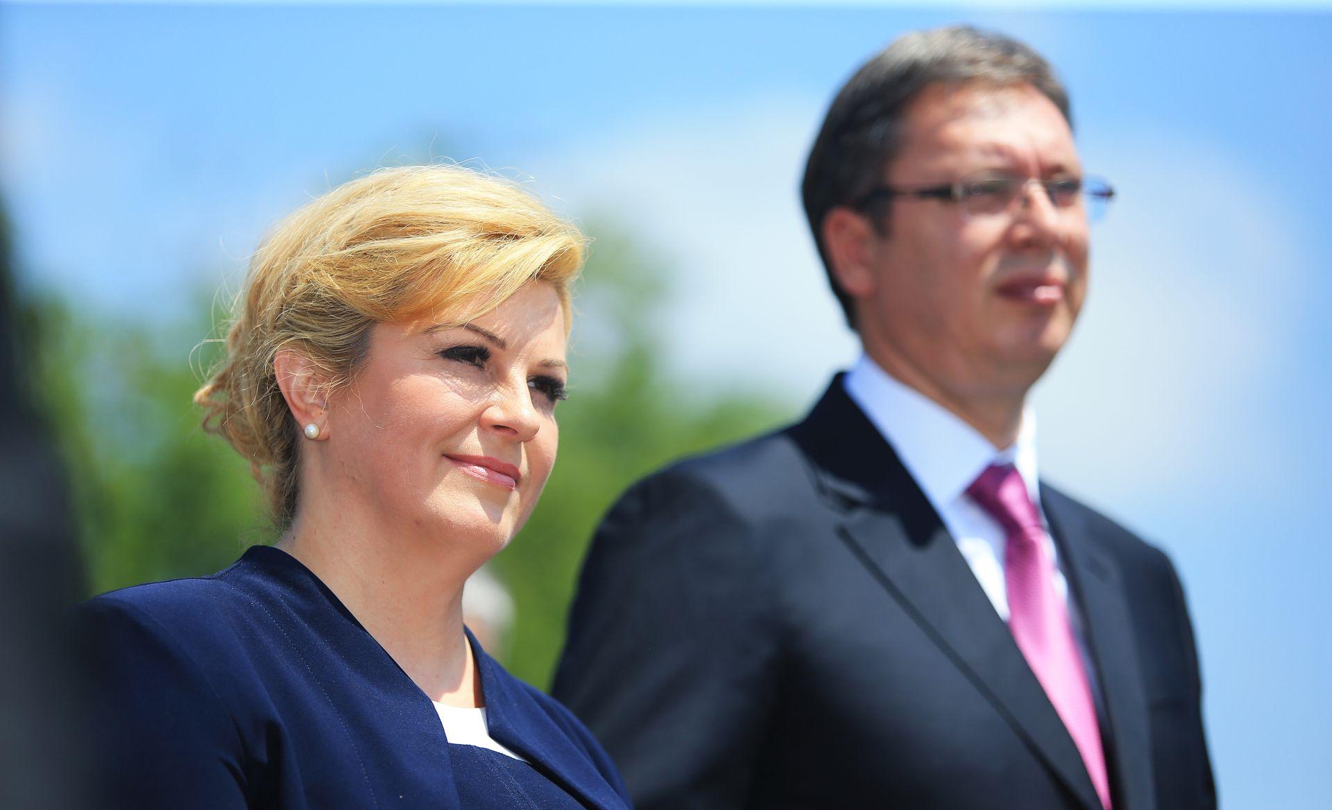 Predsjednica odgovorila na Vučićeve poruke