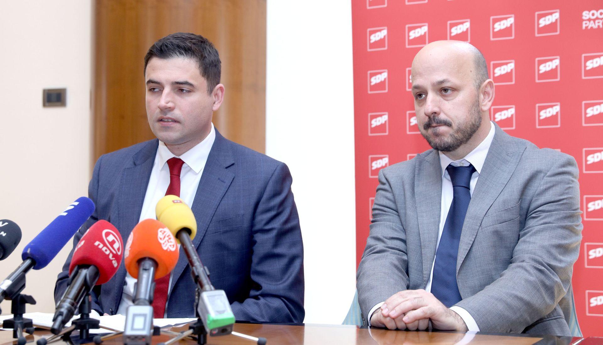 MARAS 'U SDP-u je uvijek demokratična atmosfera'