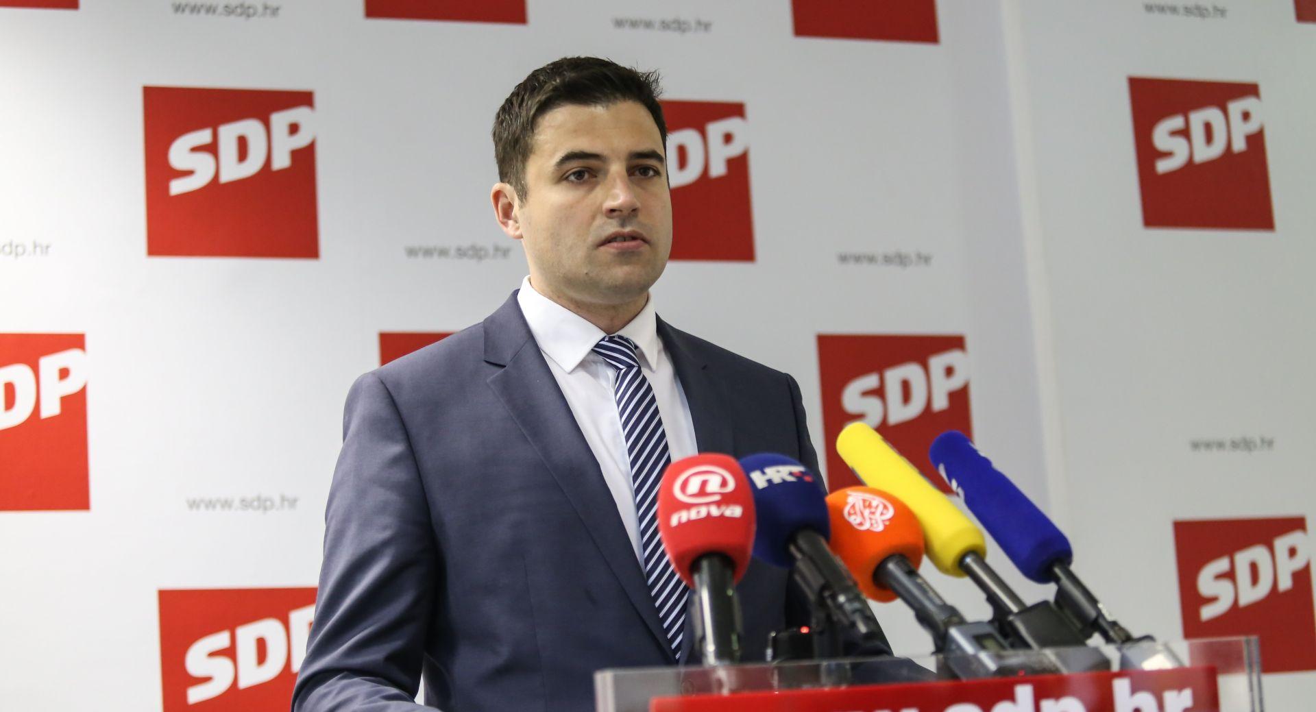 Glavni odbor SDP-a jednoglasno za pokretanje opoziva Martine Dalić