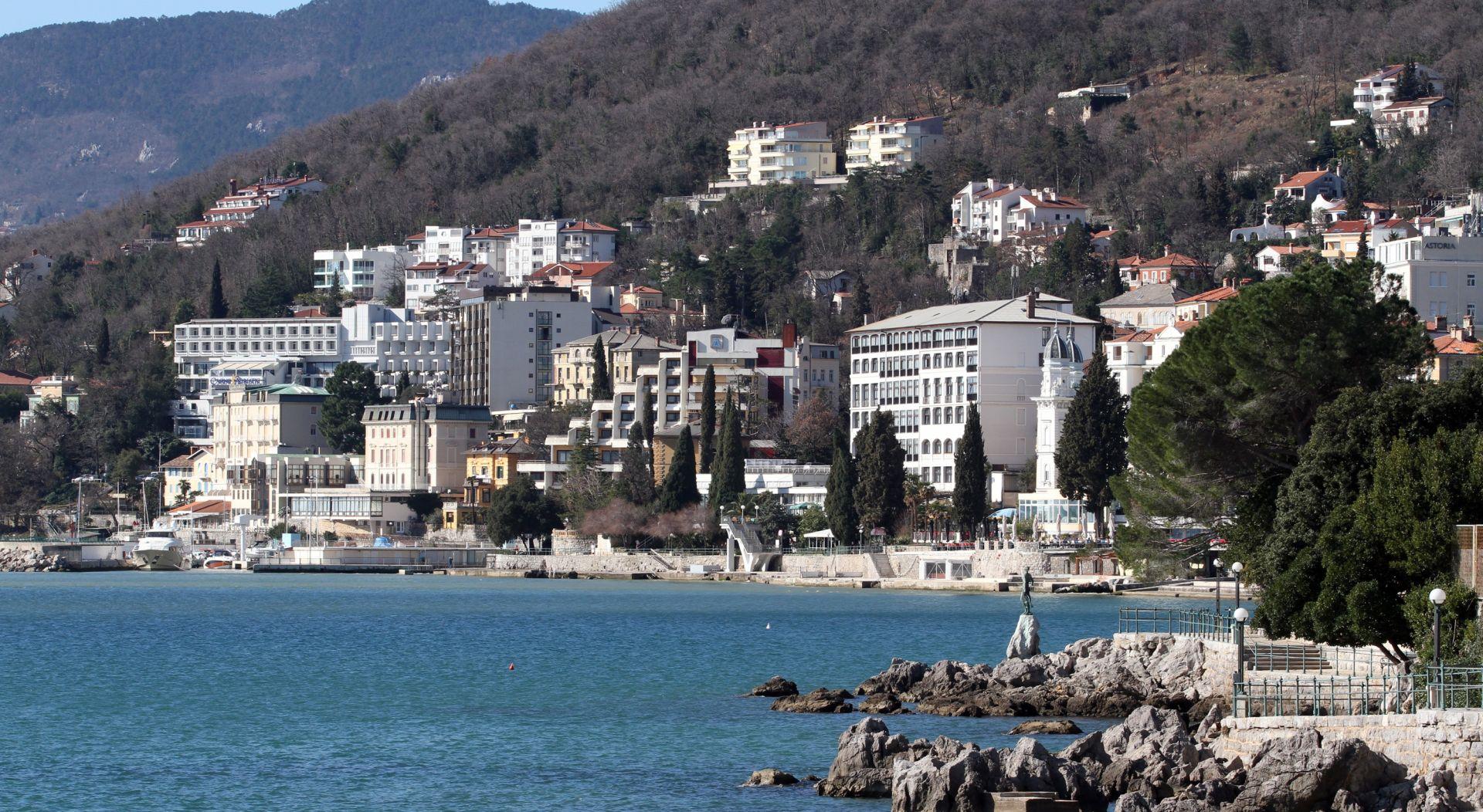 Turistički promet Grada Opatije u kolovozu i razdoblju siječanj-kolovoz