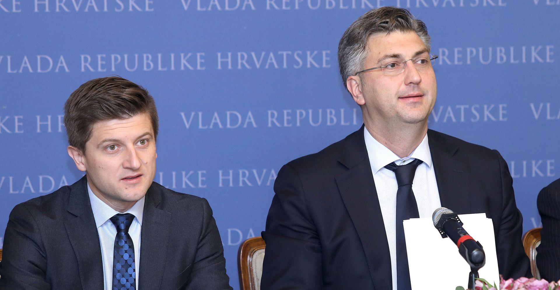 PLENKOVIĆ 'Ova vlada je spriječila tsunami gospodarskog sustava'