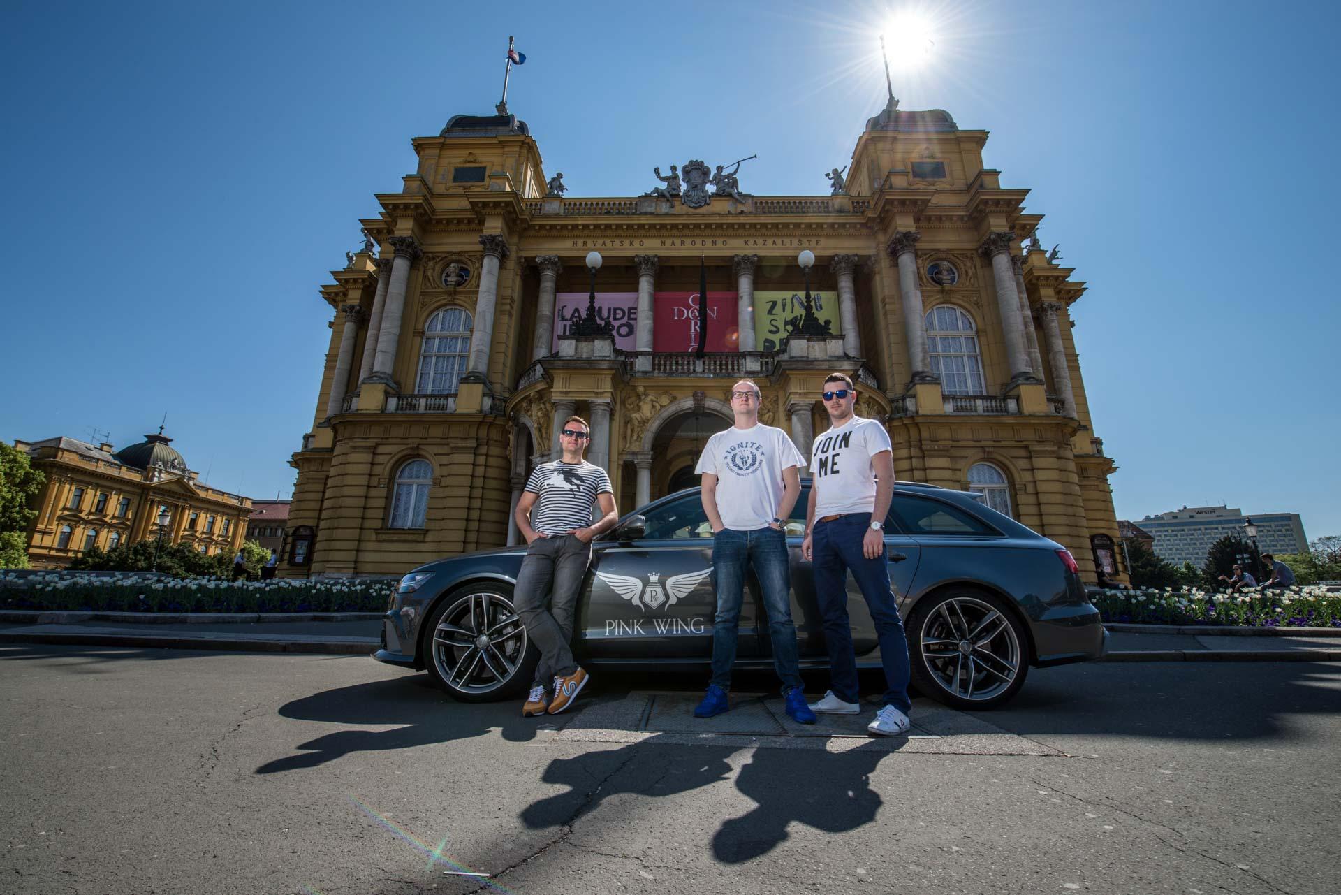 PINK WING: Kolona luksuznih automobila vrijednih 20 milijuna eura