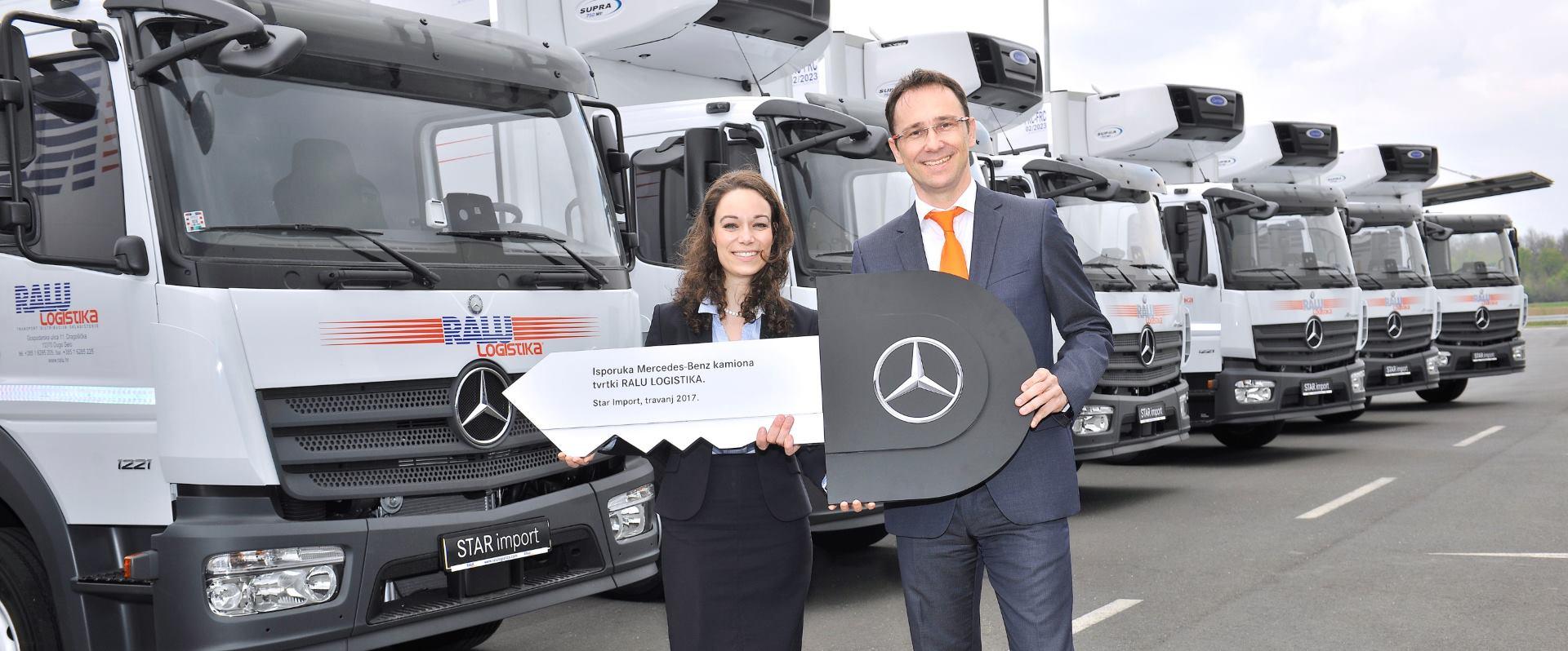 Kupnjom Mercedesovih kamiona RALU Logistika zaokružuje uspješan investicijski ciklus
