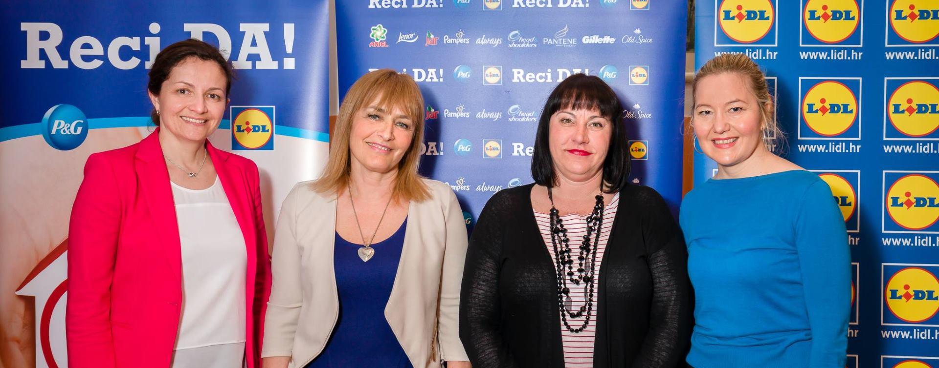 LIDL i P&G Traje humanitarna kampanja 'Reci DA!'