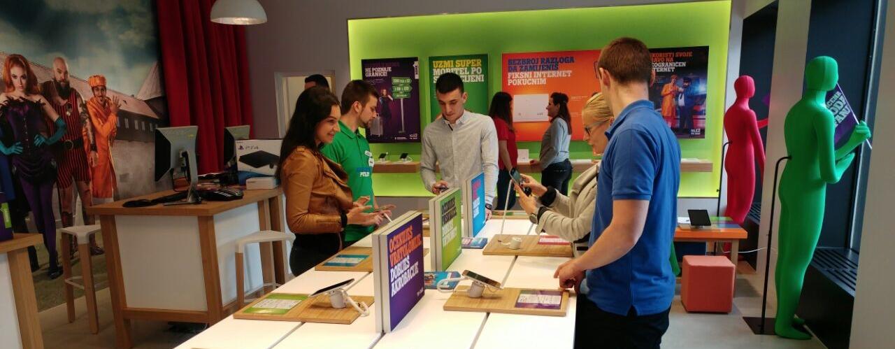 Tele2 otvorio prvi experience centar u Gradu Sisku