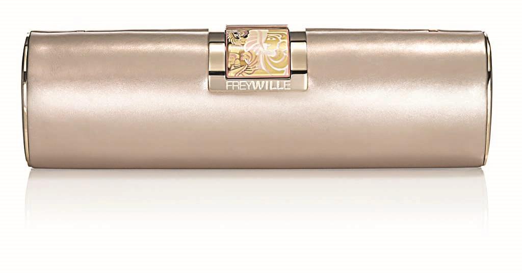 FREYWILLE torbica s kopčom od oslikanog emajla