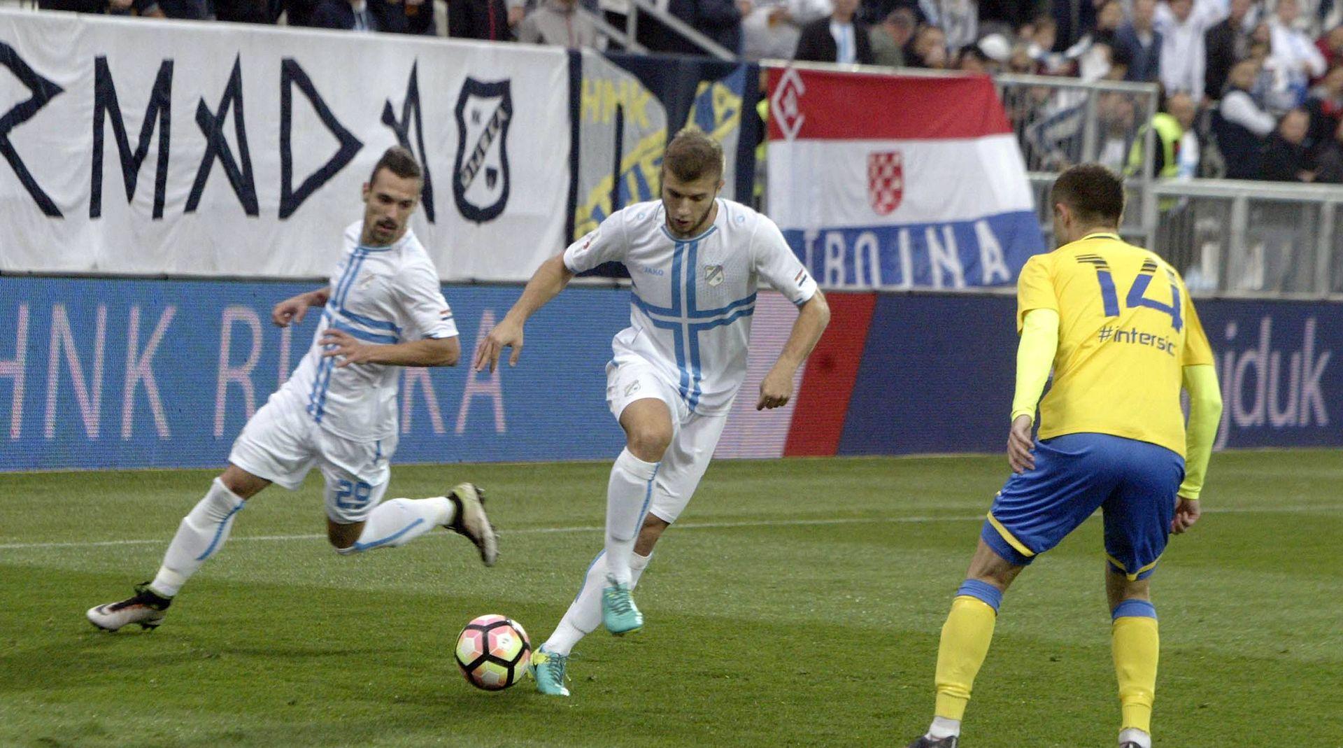 Rijeka i Hajduk na Rujevici odlučuju o drugom mjestu
