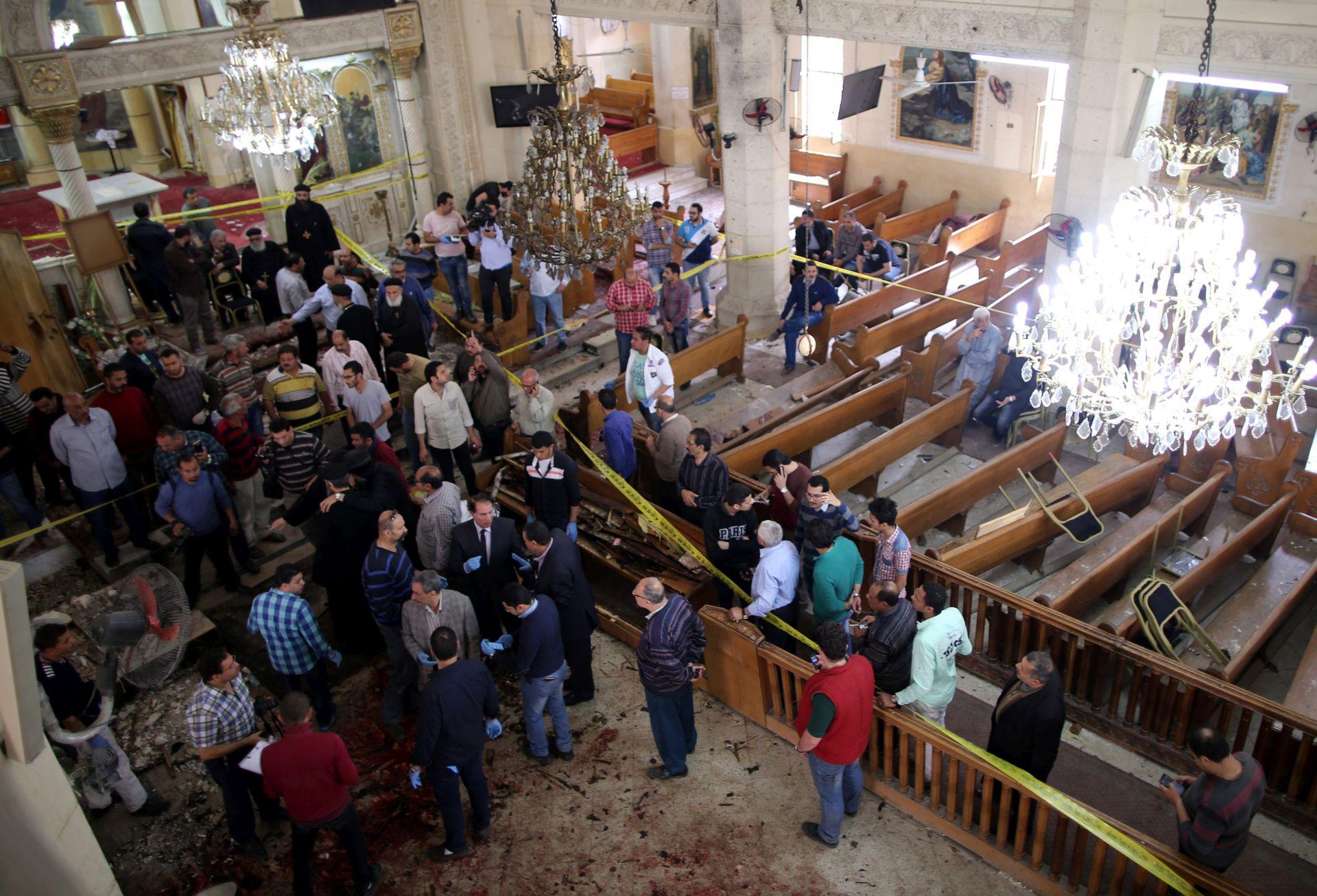 BOMBAŠKI NAPAD: U Egiptu najmanje 21 ubijena osoba, pedesetak ozlijeđenih