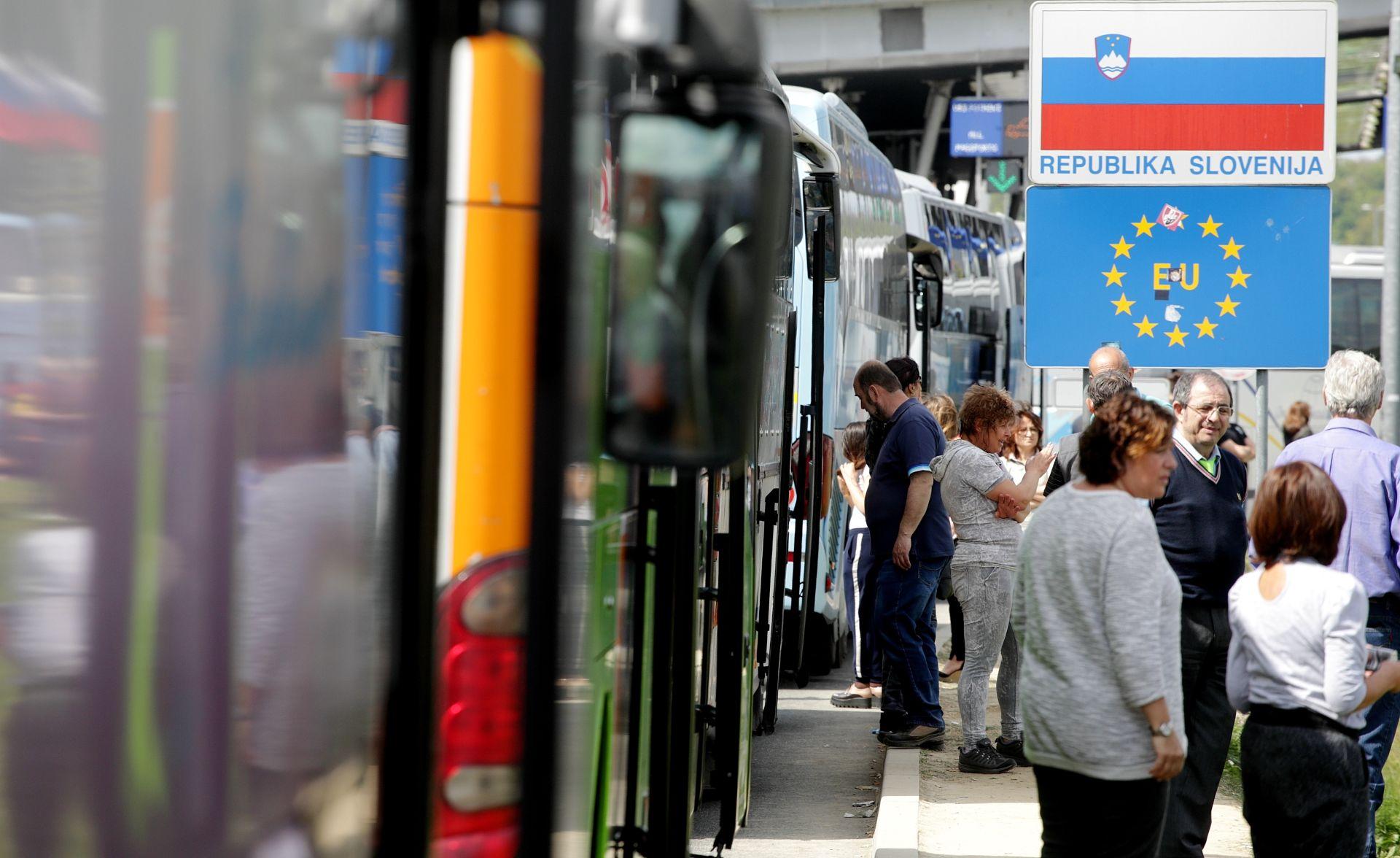 """SLOVENSKI MUP: Sustavna kontrola putnika """"privremeno"""" obustavljena"""