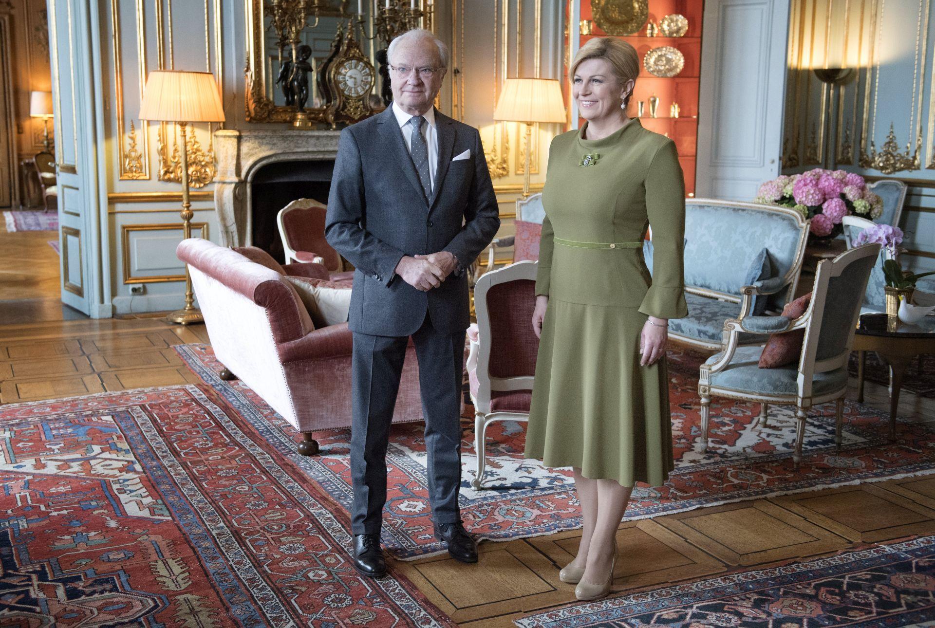 Sućut predsjednice RH povodom napada u Stockholmu