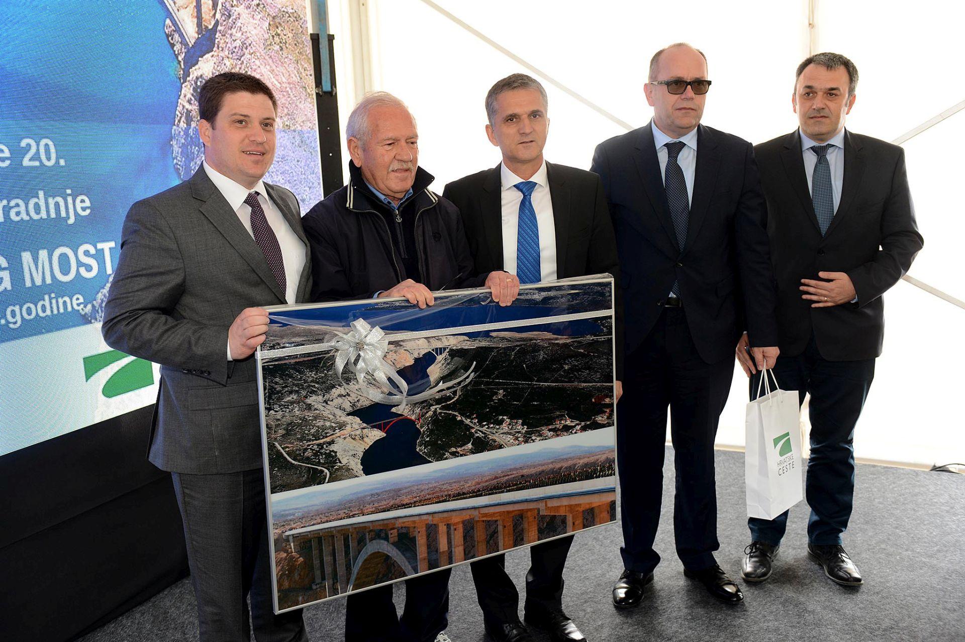 Svečano obilježena 20. obljetnica izgradnje Masleničkog mosta