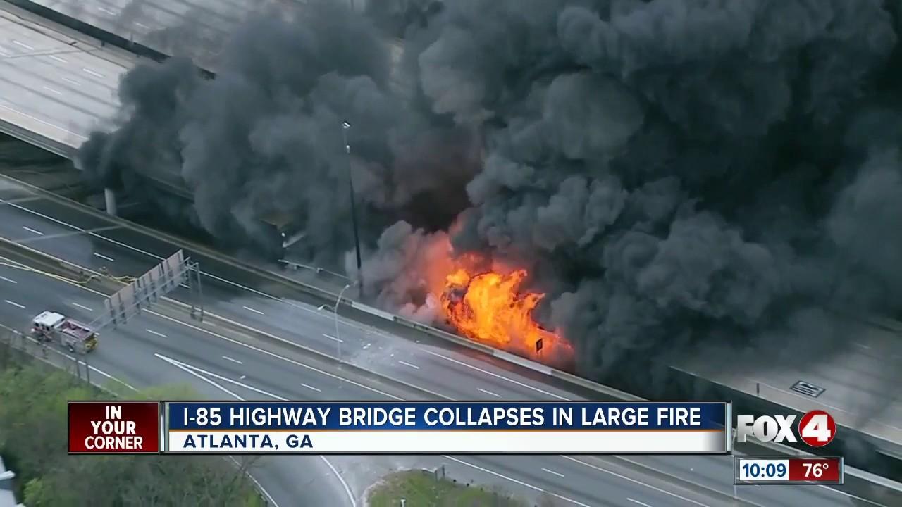 VIDEO: Troje uhićenih zbog podmetanja požara koji je uzrokovao kaos na autocesti u Atlanti