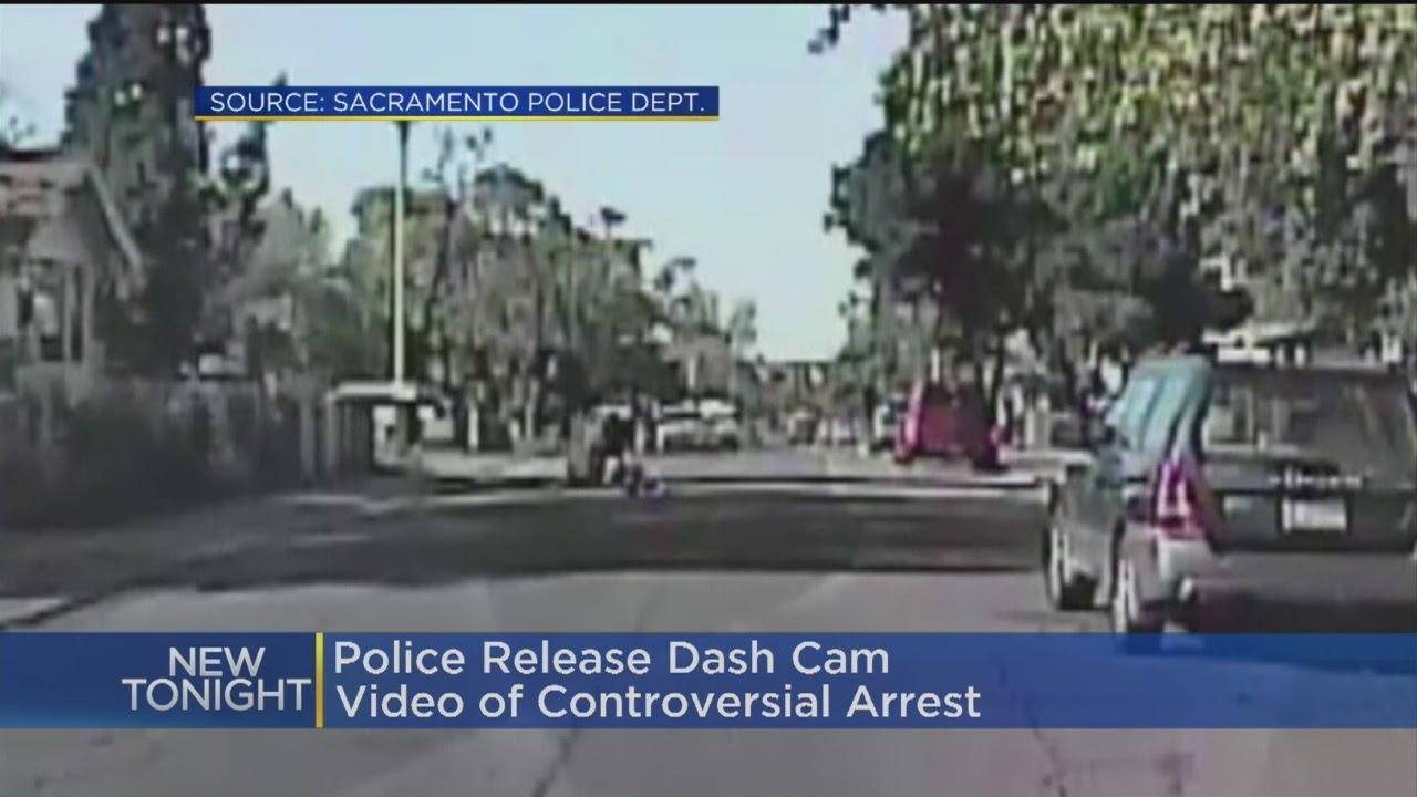 VIDEO: Policajac prebio crnca jer je 'nepropisno prelazio cestu'