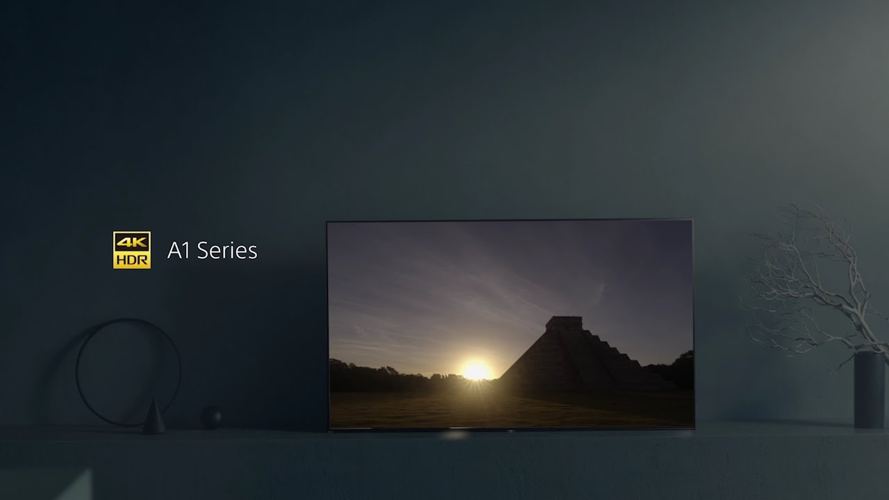 FOTO: VIDEO: Sony BRAVIA A1 OLED 4K HDR televizori konačno stižu u Europu