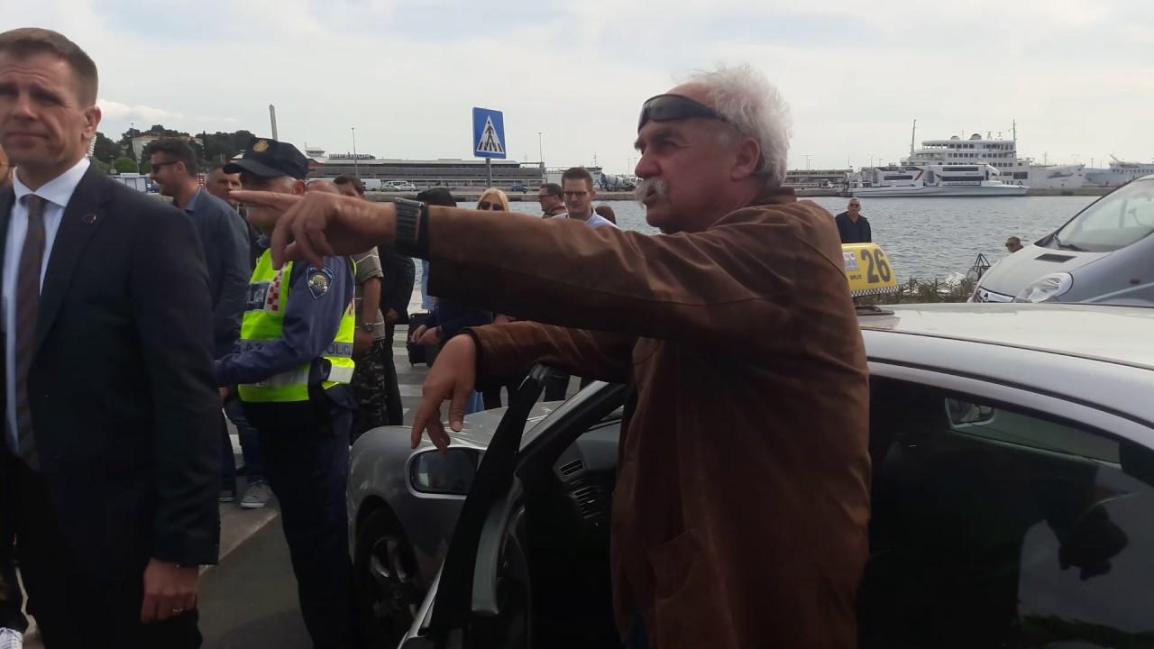 VIDEO: SPLIT Plenkovića i Oparu napao bijesni taksist