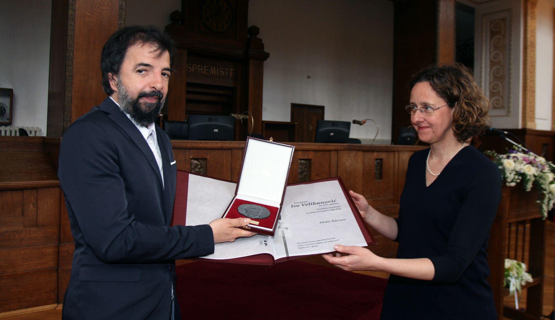Prevoditeljima dodijeljene Nagrade 'Iso Velikanović'