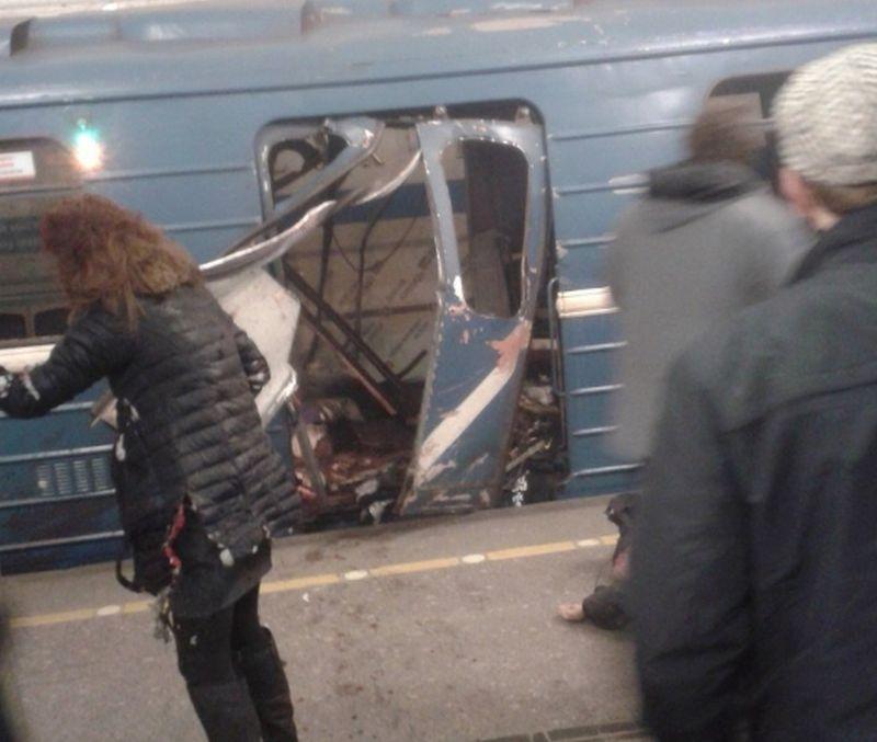 VIDEO: RUSIJA Eksplozija u vlaku u St. Petersburgu, najmanje 10 mrtvih i 50 ranjenih