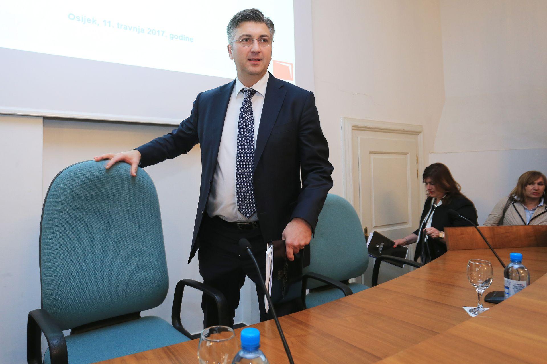 PLENKOVIĆ: 'Želimo preokrenuti negativne trendove u Slavoniji'