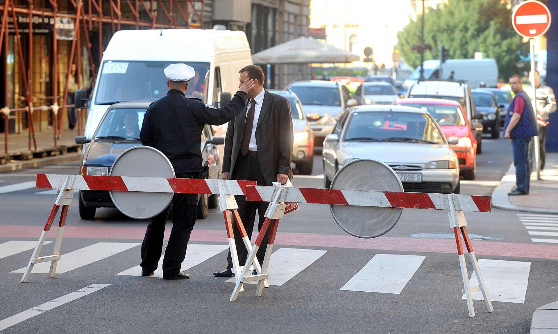 """SNIMANJE """"GENERALA"""": Policija zatvara Most slobode u Zagrebu, ovo su obilaznice"""