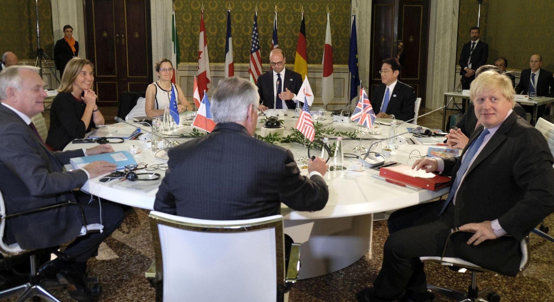 Rusija pod pritiskom G7 da prestane podupirati Asada