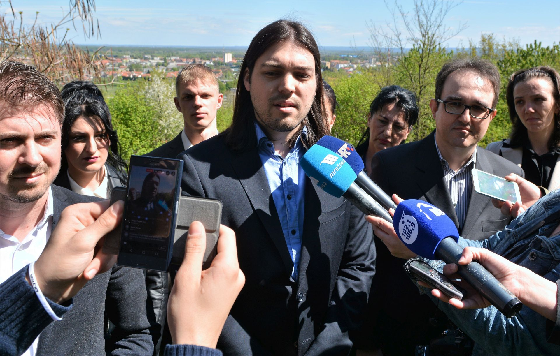 ŽIVI ZID: Sinčić kandidat za gradonačelnika Karlovca