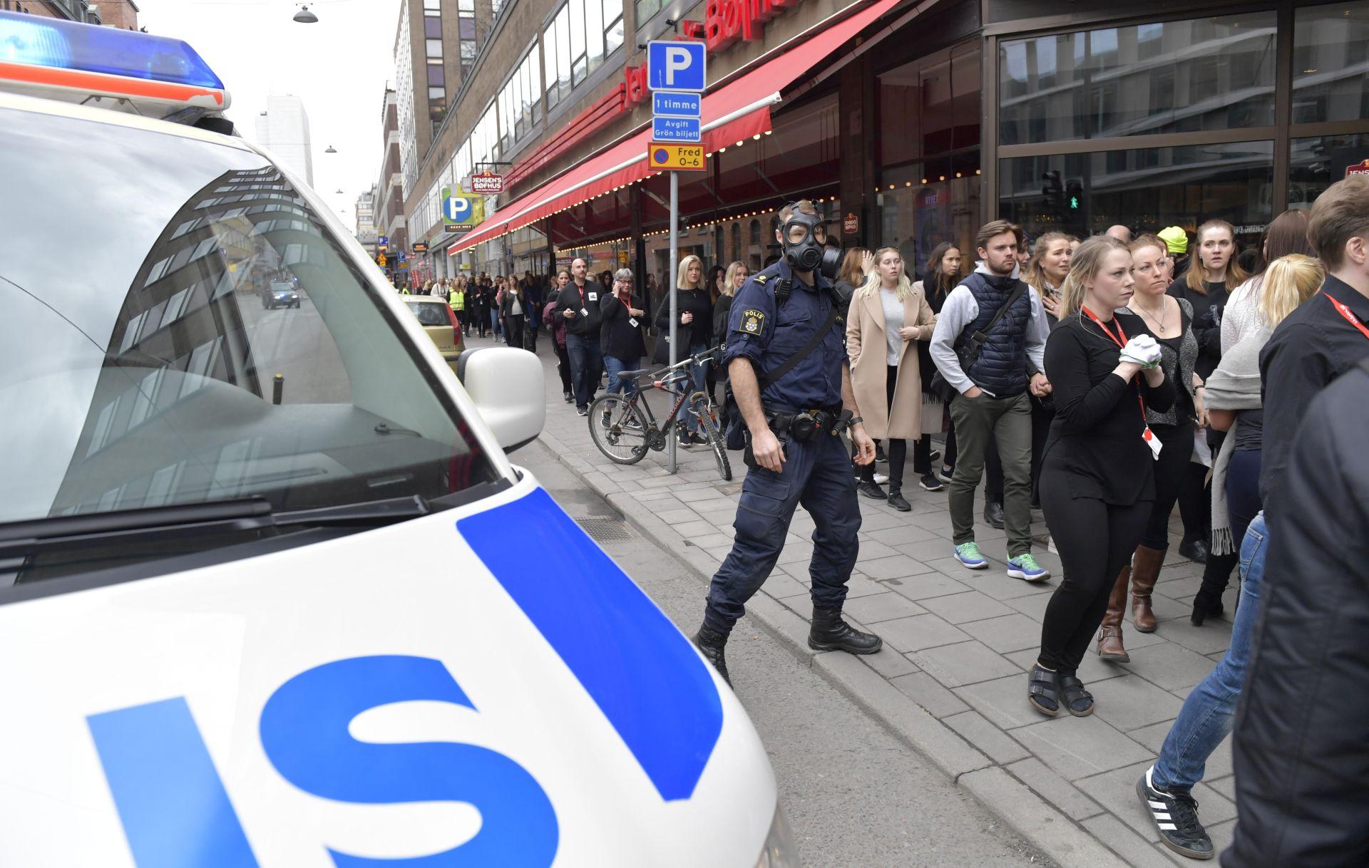 STOCKHOLM Policija uvjerena da ima napadača na pješake