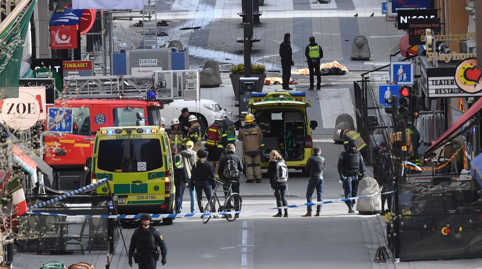 NAPAD U STOCKHOLMU: Broj žrtava porastao, policija uhitila muškarca