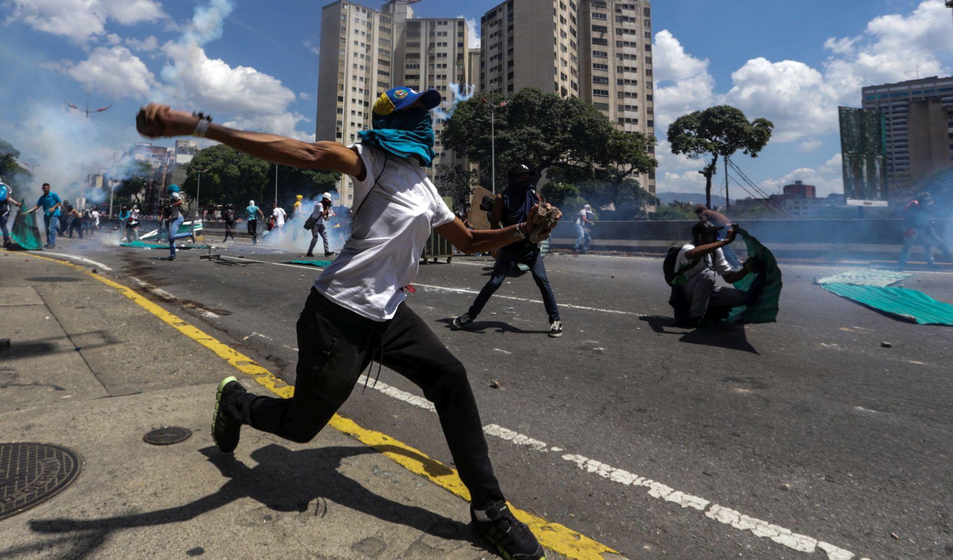 VENEZUELA Sukobi nakon zabrane političkog djelovanja oporbenog vođe