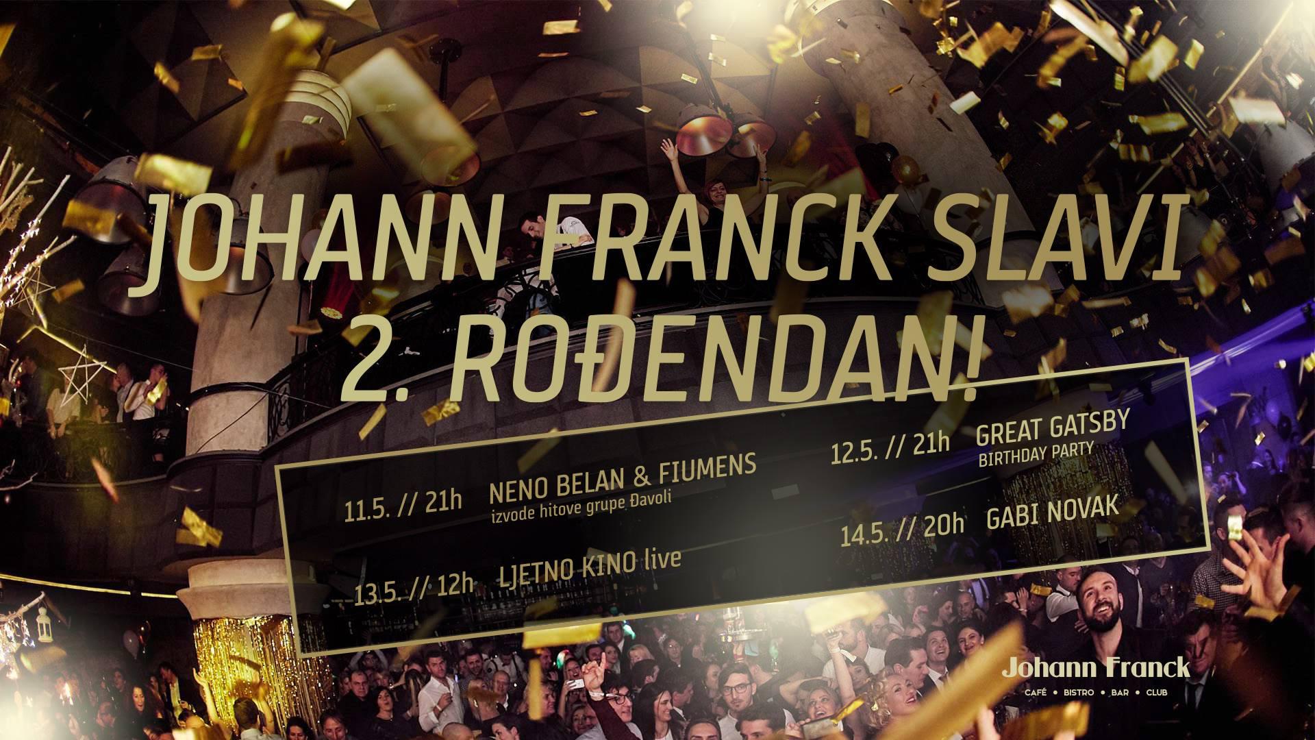 FOTO: Veselo proslavljen drugi rođendan kluba Johann Franck