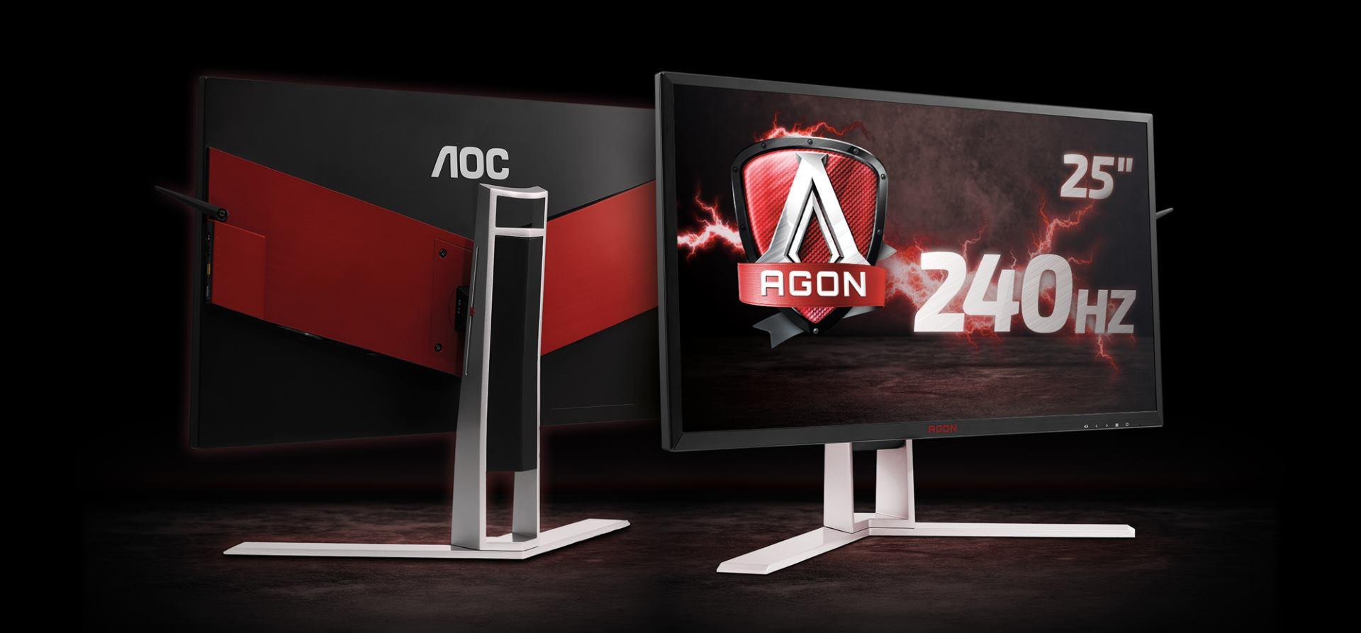 FOTO: AOC predstavlja najbrži NVIDIA G-SYNC gaming monitor